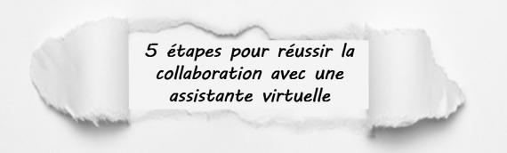 Réussir la collaboration avec les assistantes virtuelles