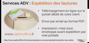 Services ADV d'envoi des factures Vente