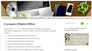 Blog Optim Office en 2014