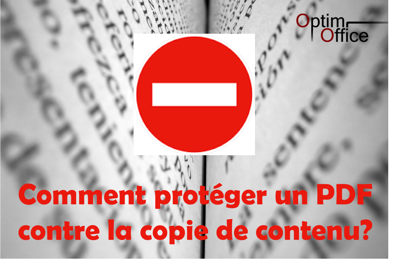 comment prot u00e9ger un document pdf contre la copie