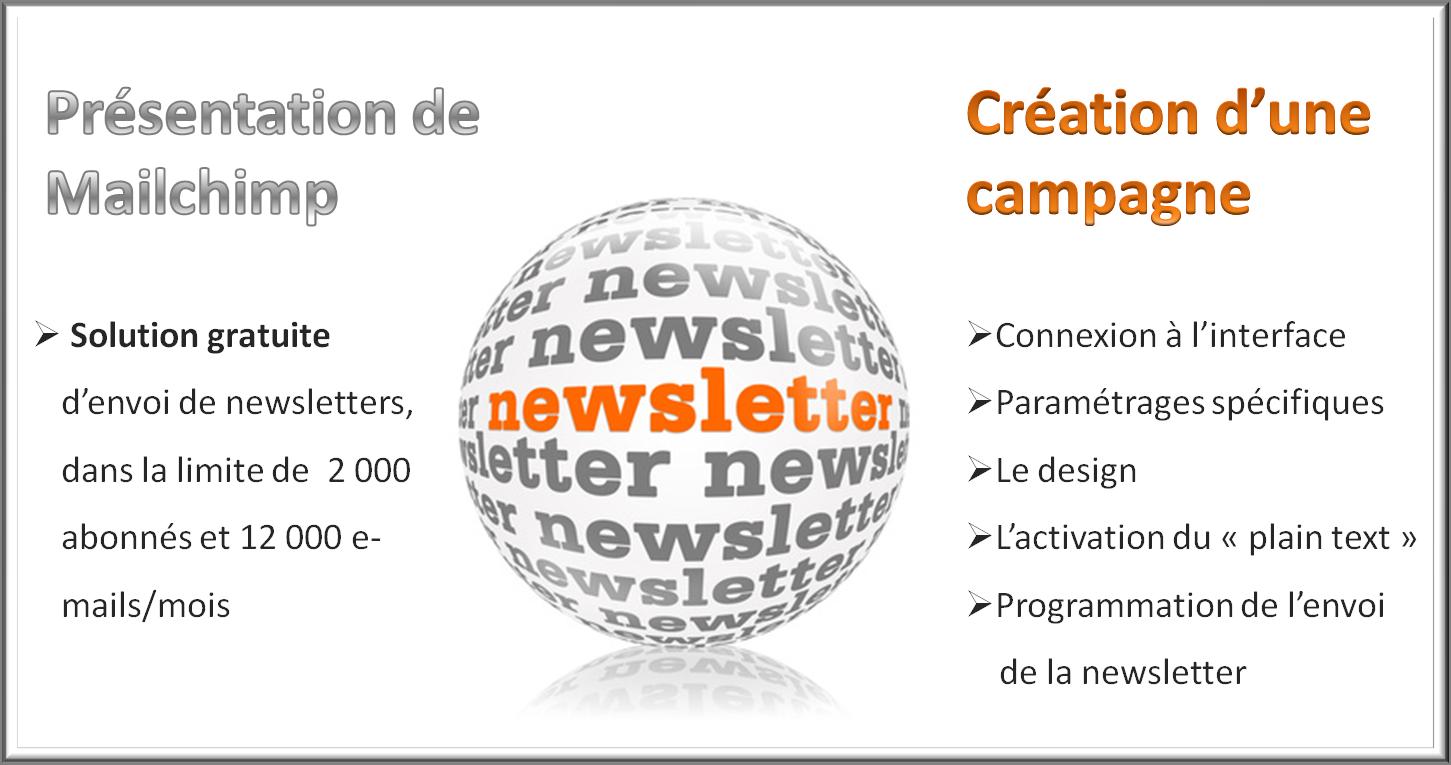 Mailchimp : solution gratuite d'envoi de newsletters