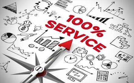 Prestations d'assistance administrative et commerciale