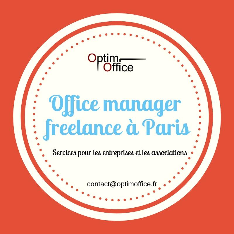 Office manager freelance pour les entreprises et associations
