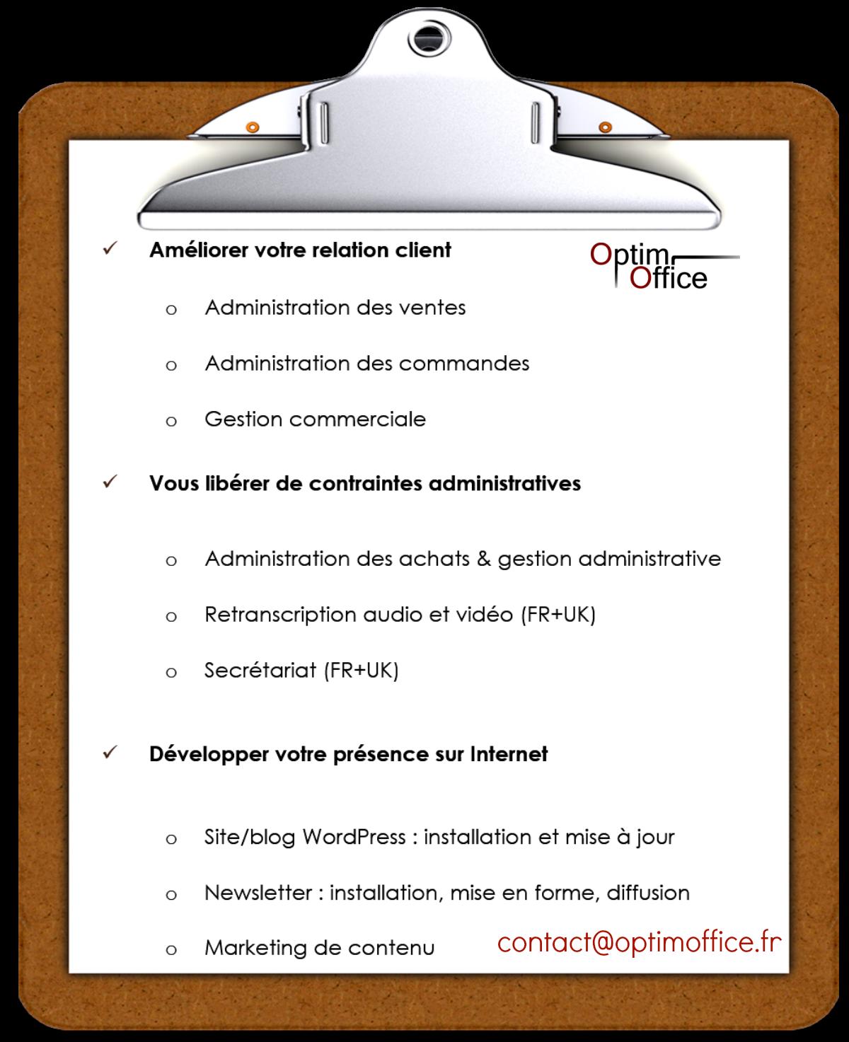 Comment contacter votre assistante indépendante à Paris