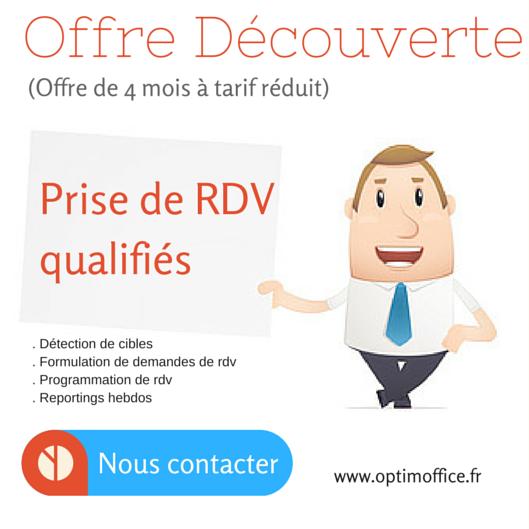 Offre Découverte - Prise de rendez-vous qualifiés - Optim Office