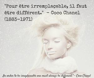 Journée de la femme - 8 mars 2015 - Coco Chanel
