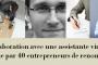 La collaboration avec une assistante virtuelle vue par 40 entrepreneurs de renom