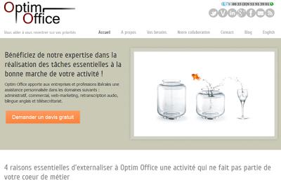 Site web d'assistantes virtuelles propulsés par WordPress