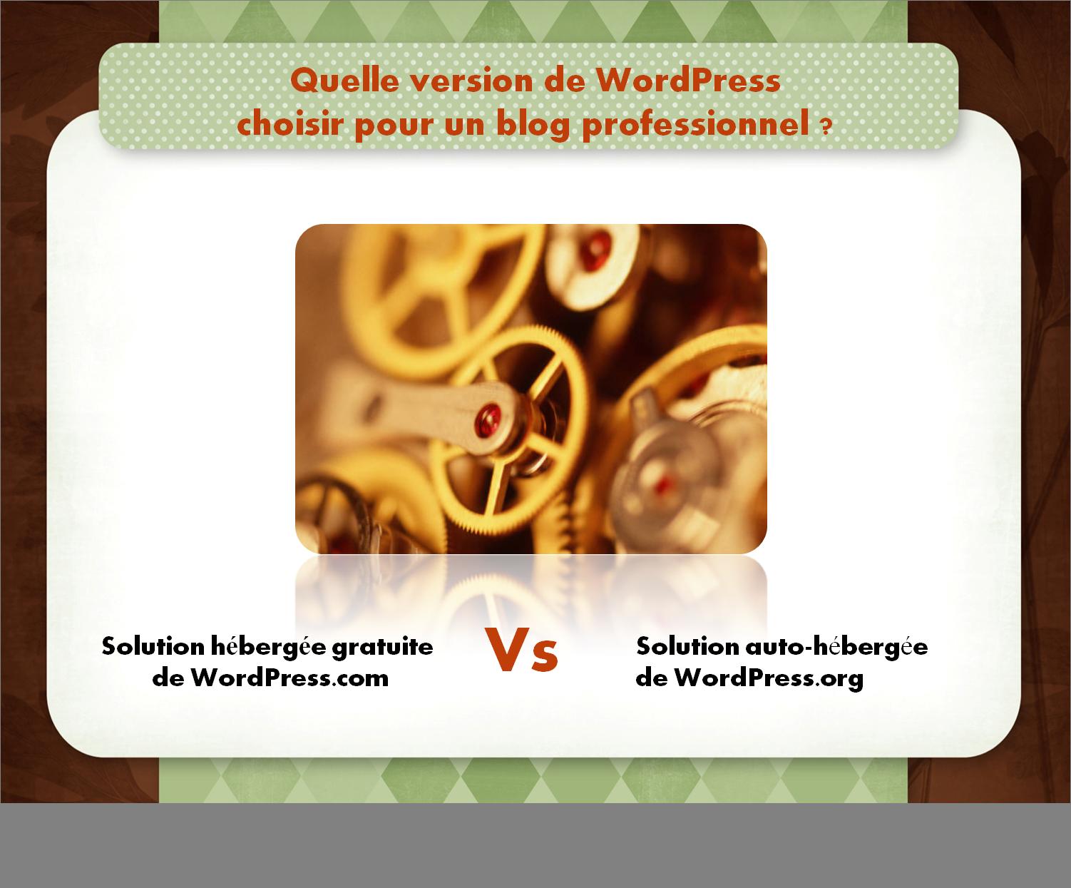 WordPress : solution hebergée gratuite vs solution auto-hébergée