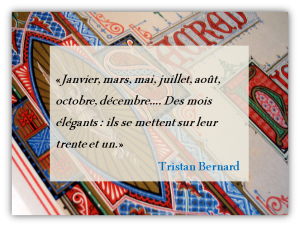 Règles typographiques françaises : les dates et les mois