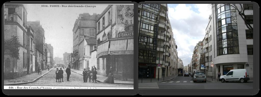 rue des grands champs 75020 Paris