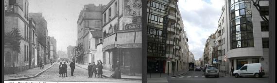 A la découverte de la rue des Grands Champs -Paris 20e
