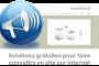 De la création d'un blog à la diffusion sur les réseaux sociaux, les solutions gratuites pour promouvoir un site web